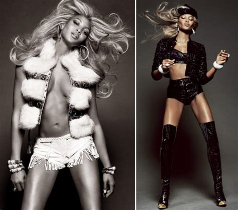 Beyonce Goes Versace by Cbell Goes For Vogue Brazil Welcome To