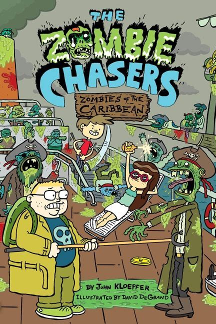 the chaser books the chasers 6 zombies of the caribbean