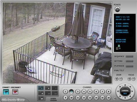 home surveillance system with remote viewing