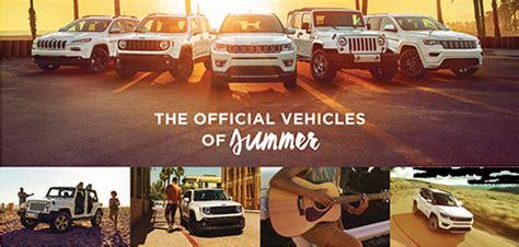 jeep summer sales event summer specials keep rolling at eide chrysler eide