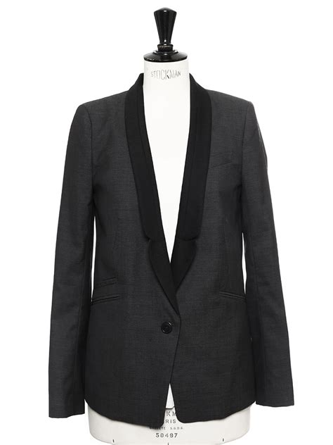 e boutique comptoir des cotonniers louise comptoir des cotonniers veste blazer en