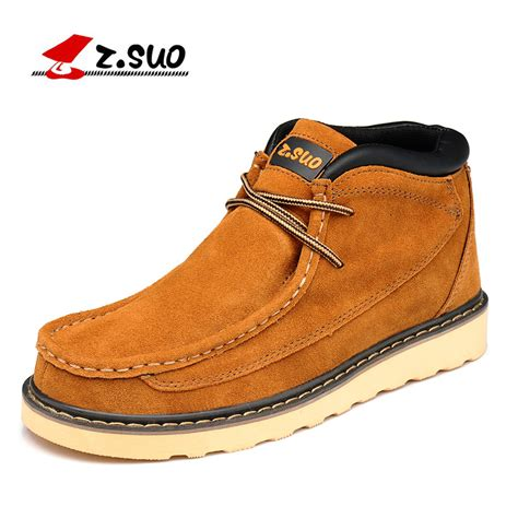 Z Suo מוצר z suo s shoes plush leather shoes both