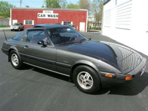 sell   mazda rx  gsl coupe  owner leather sunroof great colors