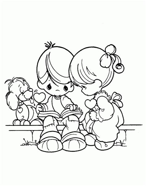 Precious Moments Christmas Coloring Pages Coloring Home Bible Precious Moment Coloring