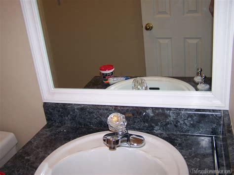 beach bathroom mirror how to frame your bathroom mirrors beach inspired