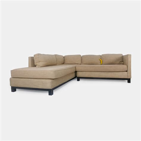 51 Off Mitchell Gold Mitchell Gold Beige Sectional Sofas Gold Sectional Sofa