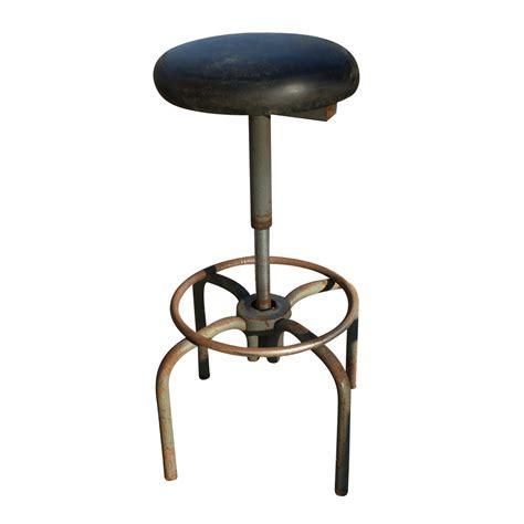 Metal Stools Vintage by Vintage Industrial Age Ajusto Metal Stool Ebay