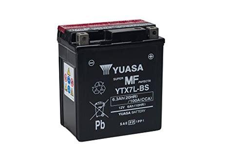 Motorrad 125 Ccm Honda Preise by Yuasa Ytx7l Bs Powersports Agm Motorrad Batterie