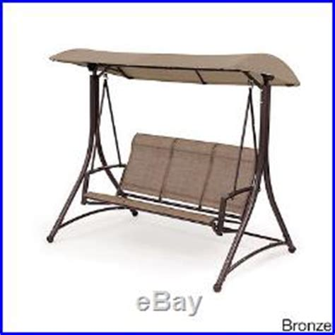 3 seat glider with canopy patio swing with canopy 3 seat glider porch backyard home