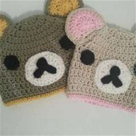 Boneka Rilakuma Frogy Second 3 minnie mouse hat version 2 with pom poms 183 an animal hat 183 yarncraft on cut out keep