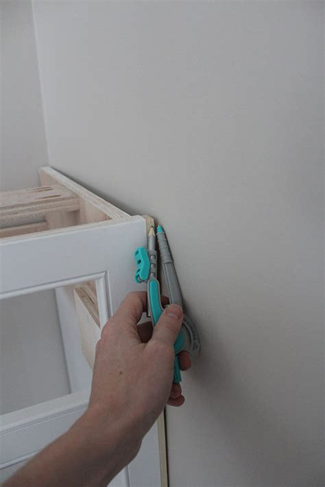 filling gaps between cabinets our home from scratch