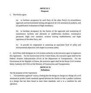 Executive Producer Agreement Template by Executive Agreement 9 Free Documents In Pdf Word
