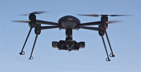 Drone Vidio mounties save their with a draganflyer uav drone