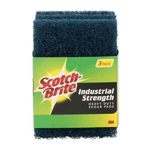 scotch brite scotch brite heavy duty industrial strength scour pad 3