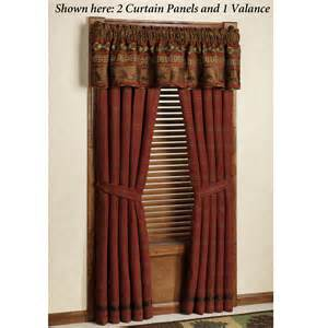 Rustic Curtains And Drapes Rustic Cabin Curtains Drapes 187 Design And Ideas