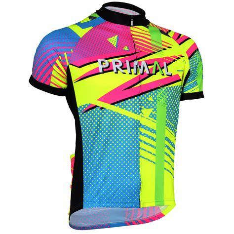 Jersey Multi Sport Ukraina Home Large wiggle primal wuz zappenin jersey sleeve cycling