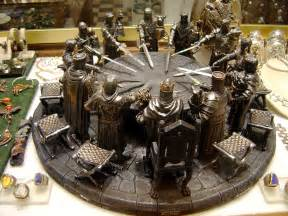 image gallery knights table