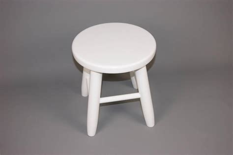 White Small Chair Kbi Small Laquered White Wooden Stool Chair Bar Kitchen
