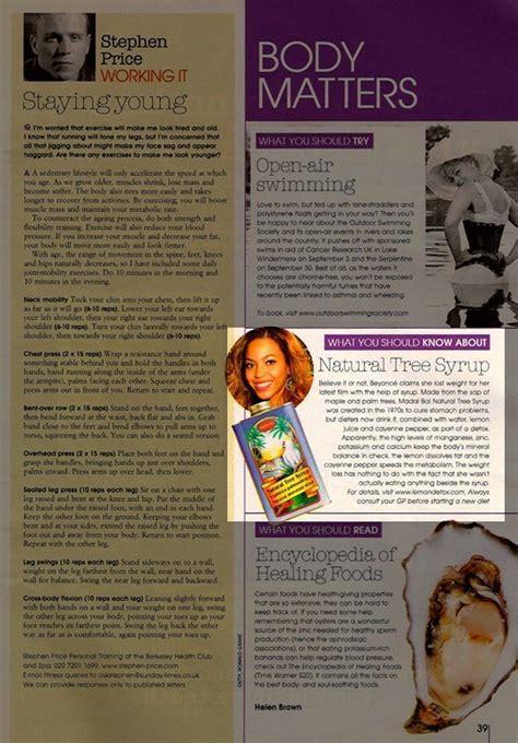 Ch Detox Website by Media The Lemon Detoxthe Lemon Detox