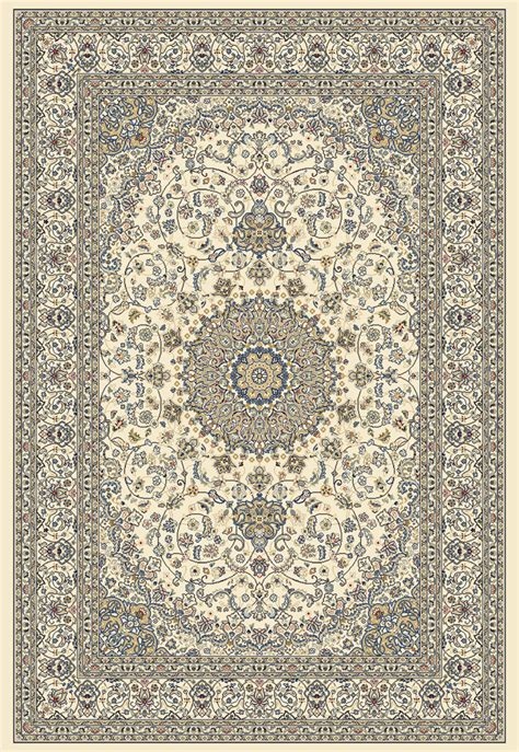 Dynamic Rugs Ancient Garden 57119 6464 Ivory Ivory 64 Ancient Rugs