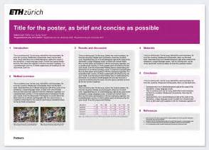 landscape poster template research poster services resources eth zurich