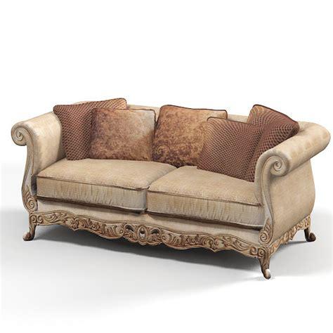 classical sofa classic baroque sofa 3d model
