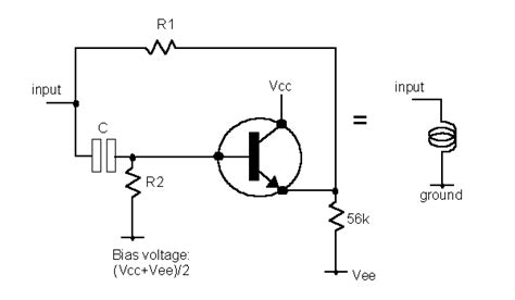 inductor in an lifier circuit electronics
