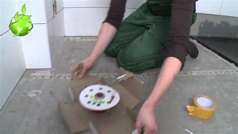 vloerverwarming badkamer quickheat quickheat floor flex installatie in badkamer youtube