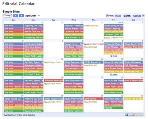 social media editorial calendar template want to work from home find your routine the of simple