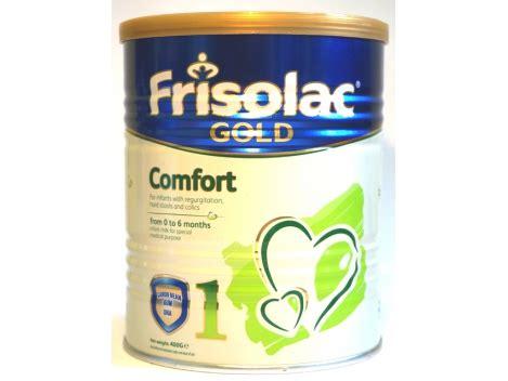 frisolac gold comfort virškinimo sutrikimų turintiems kūdikiams skirtas pieno