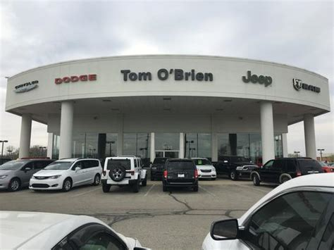 Jeep Dealers Indiana Tom O Brien Chrysler Jeep Dodge Ram Indianapolis