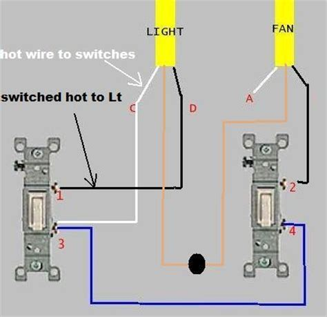 end line light switch adding timer to existing fan and