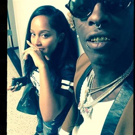 young thug udigg young thug calls rich homie quan his quot hubbie quot on instagram