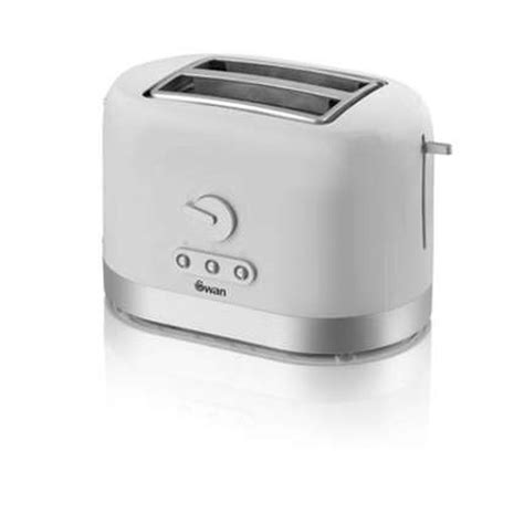 Buy 2 Slice Toaster Swan White 2 Slice Toaster St10020n Buy At Qd Stores
