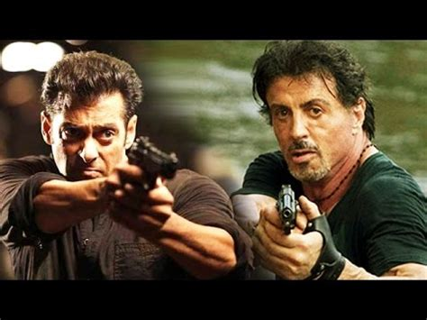 film action salman khan sylvester stallone wants action movie with salman khan