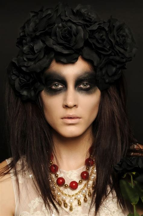 halloween hairstyles day of the dead day of the dead makeup halloween goth art pinterest