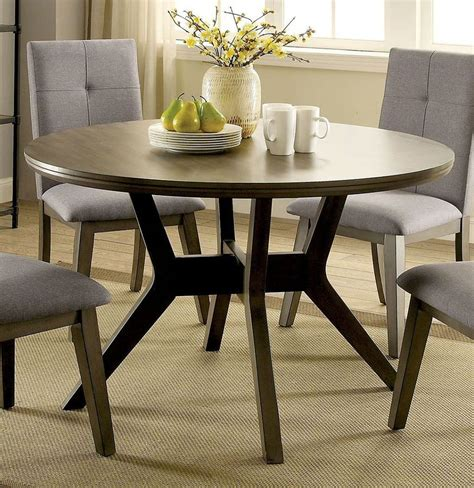 abelone  dining table gray  furniture  america