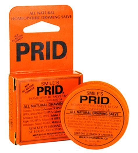 does prids work on ingrown hairs prid drawing salve hyland s homeopathic