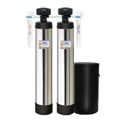 whole house water softener dual tank water softener and whole house filter system
