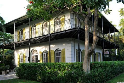 hemingway house key west ernest hemingway s house in key west has charm cats and a