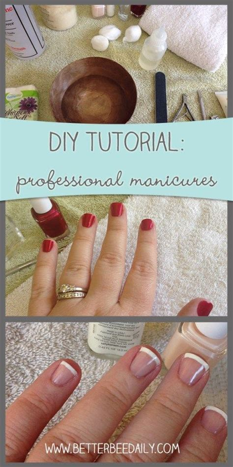 easy nail art techniques at home how to give yourself a professional manicure at home