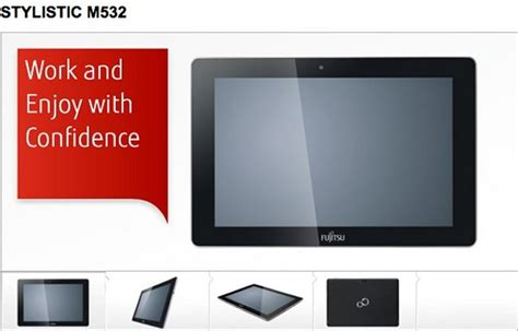 Tablet Fujitsu Stylistic M532 fujitsu stylistic m532 android tablet shows up in fcc database geeky gadgets