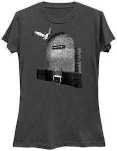 Kaos Harry Potter Harry Potter Platform 9 And 3 4 Graphics Lengan Panj harry potter platform 9 3 4 t shirt thlog