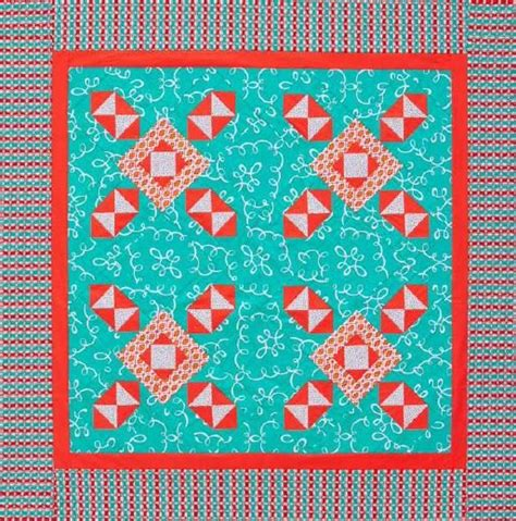 Allpeople Quilt by Free Pattern Summer Windmills Quilt From All Quilt
