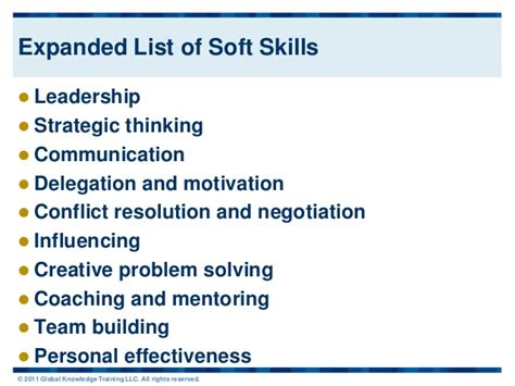 Soft Skills Resume List by Pics For Gt Soft Skills List