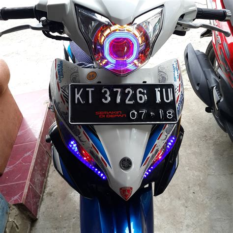 Lu Hid Motor New Jupiter Mx modifikasi lu jupiter mx 135 modifikasi motor terbaru