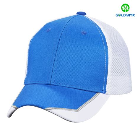 oem design custom flex fitted mesh baseball caps from