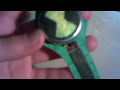 How To Make A Ben 10 Omnitrix Out Of Paper - my paper omnitrix