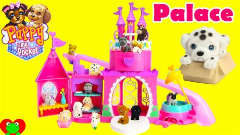 puppy in my pocket playsets puppy in my pocket pretty pet palace playset and blind bags