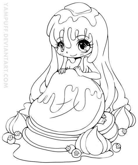 chibi lollipop girl coloring page free printable pin by ludy van tilborg on digi sts pinterest